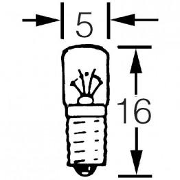 12v 1.5w LES E5 Cap LLB280