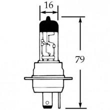12v Halogen Bulb for BPF Headlamps 60/55w LLB463