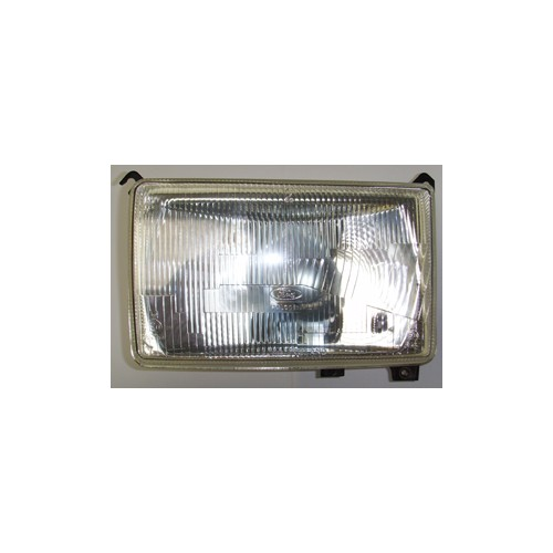 Square Halogen Headlamp Unit marked FORD image #1