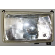 Square Halogen Headlamp Unit marked FORD