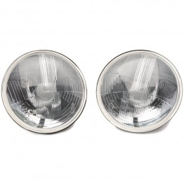 Lucas type 7 in RHD Halogen - With Sidelight - Domed Glass LUB801