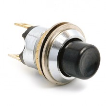 Push Button Switch for Metal Dashboards - Lucar Terminals SPB106