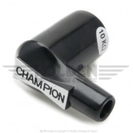 Champion Right Angle Spark Plug Cap - Suppressed