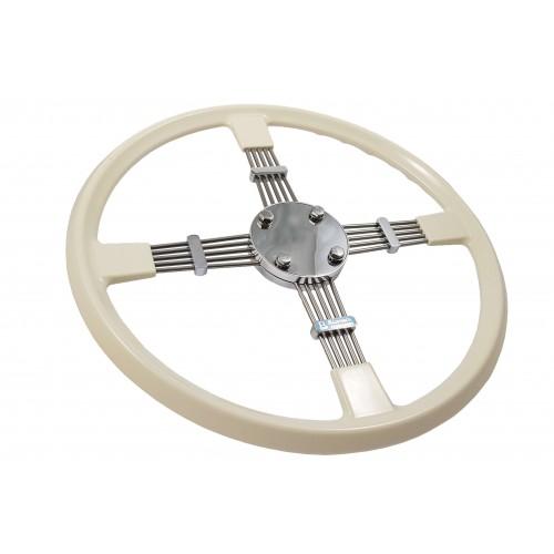 Bluemels Steering Wheel - 15.5 inch diameter Cream