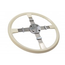 Bluemels Steering Wheel - 15.5 inch diameter Cream