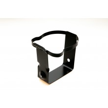 Windscreen Washer Bottle Frame - Round - Black