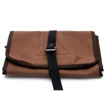 Canvas Tool Roll With Holden Logo - Brown