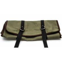 Canvas Tool Roll With Holden Logo - Green