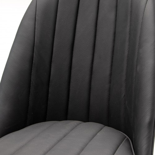 Sports Bucket Seat in black leather image #5