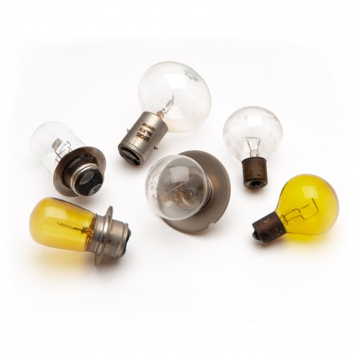 Bulb 12v 25/25 Marchal Fitting - Yellow