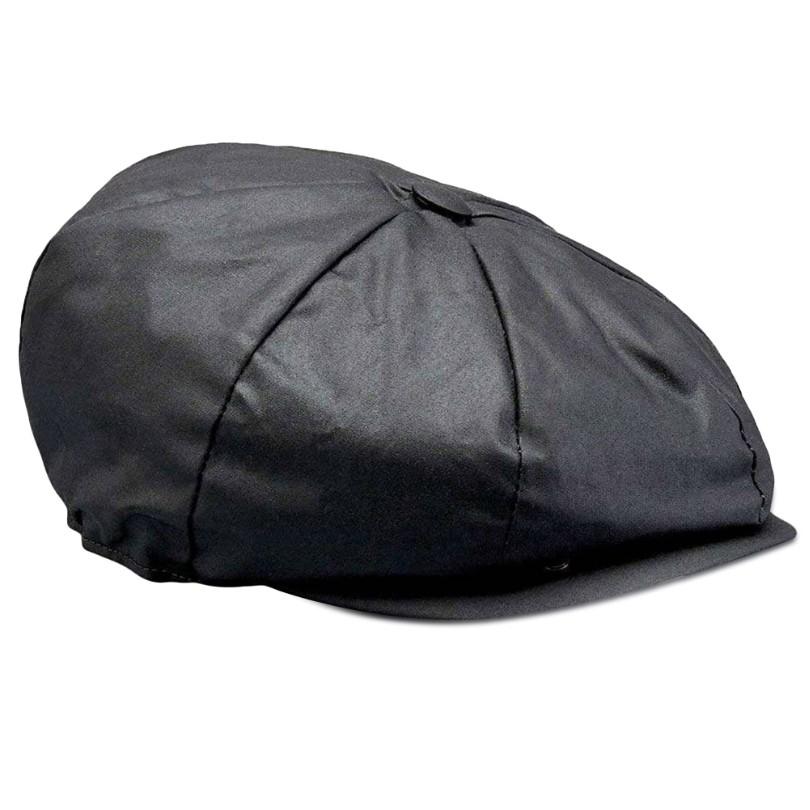 Belstaff Hislop Wax Cotton Cap - Black image #1