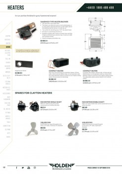 Heaters & Electric Fans