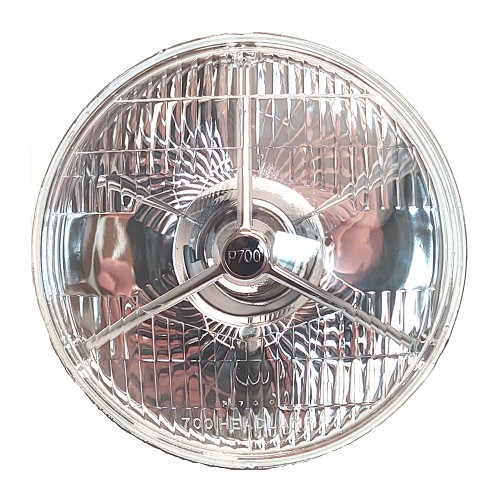 """7"""" Tripod Light Unit Halogen with Sidelight P700 Replacement"""