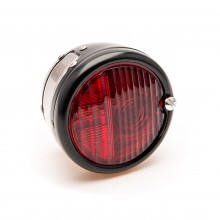 ST38 'Pork Pie' Rear Lamp - Black