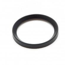 Black 60mm Half Vee Rim