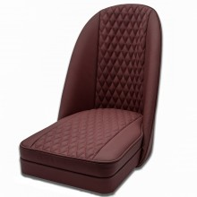 Sports Bucket Seat in Quilted Coloured Leather