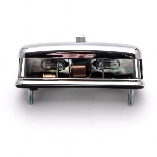 Numberplate Lamp - Chrome L467 56790
