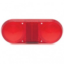 Lucas L671 Type Rear Lamp Lens Only - Red