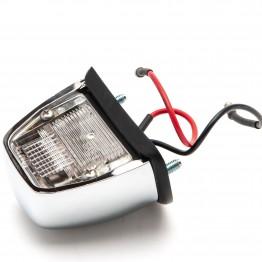 Chrome Numberplate Lamp - L860/56666
