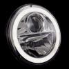 "Wipac 7"" LED Headlamp with Halo - RHD Pair image #5"