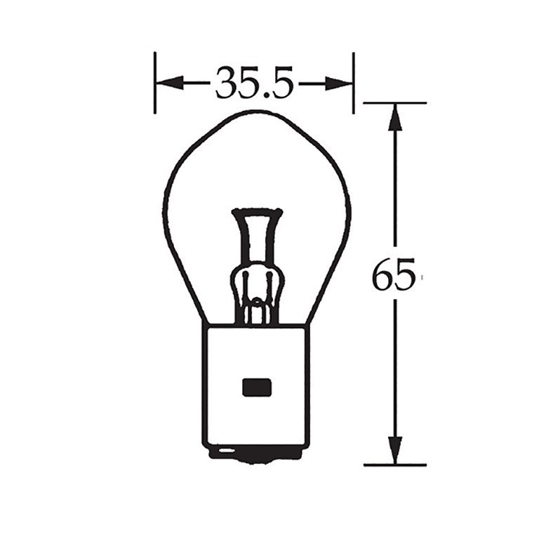 6v Bulb Single Contact Bosch 35w LLB130 image #1