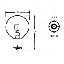 Bulb (BA15s) 12 Volt 48 Watt LLB23
