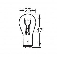 24v 18w Double Contact Bulb BA15d LLB338