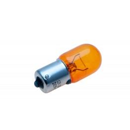 12v 21w Single Contact Bulb BA 15s Cap - Amber LLB382/SA