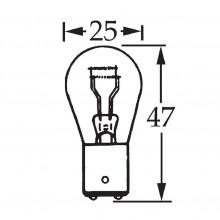 6v 5/21w Parallel Pin Double Contact Bulb BA15d Cap