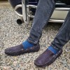 Loake Shoes - Donington Navy Suede image #1