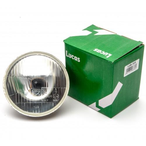 "Lucas 5 3/4"" Light Unit RHD H4 Main/Dip No Sidelight"