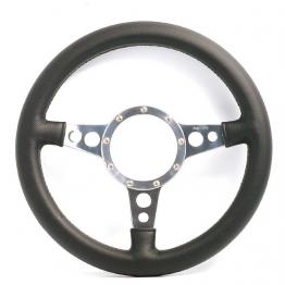 Moto Lita Mark 4 Leather Rim Steering Wheel - 13 Inch Dished