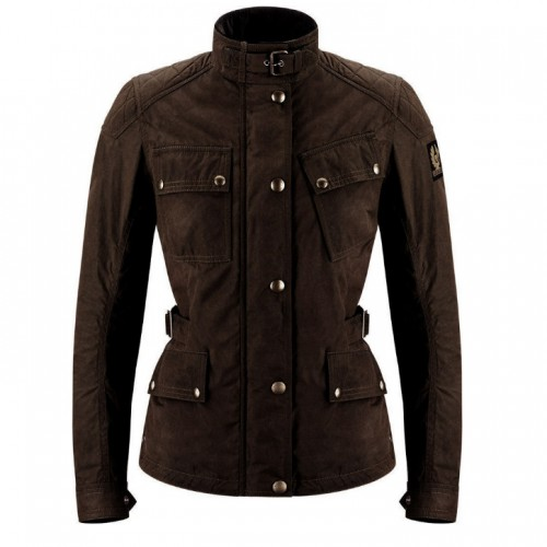 Belstaff Phillis Women's Jacket - Black/Brown