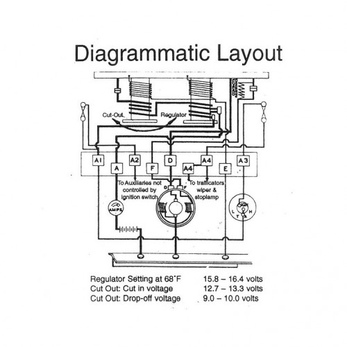Lucas RF95 6 volt control box image #2