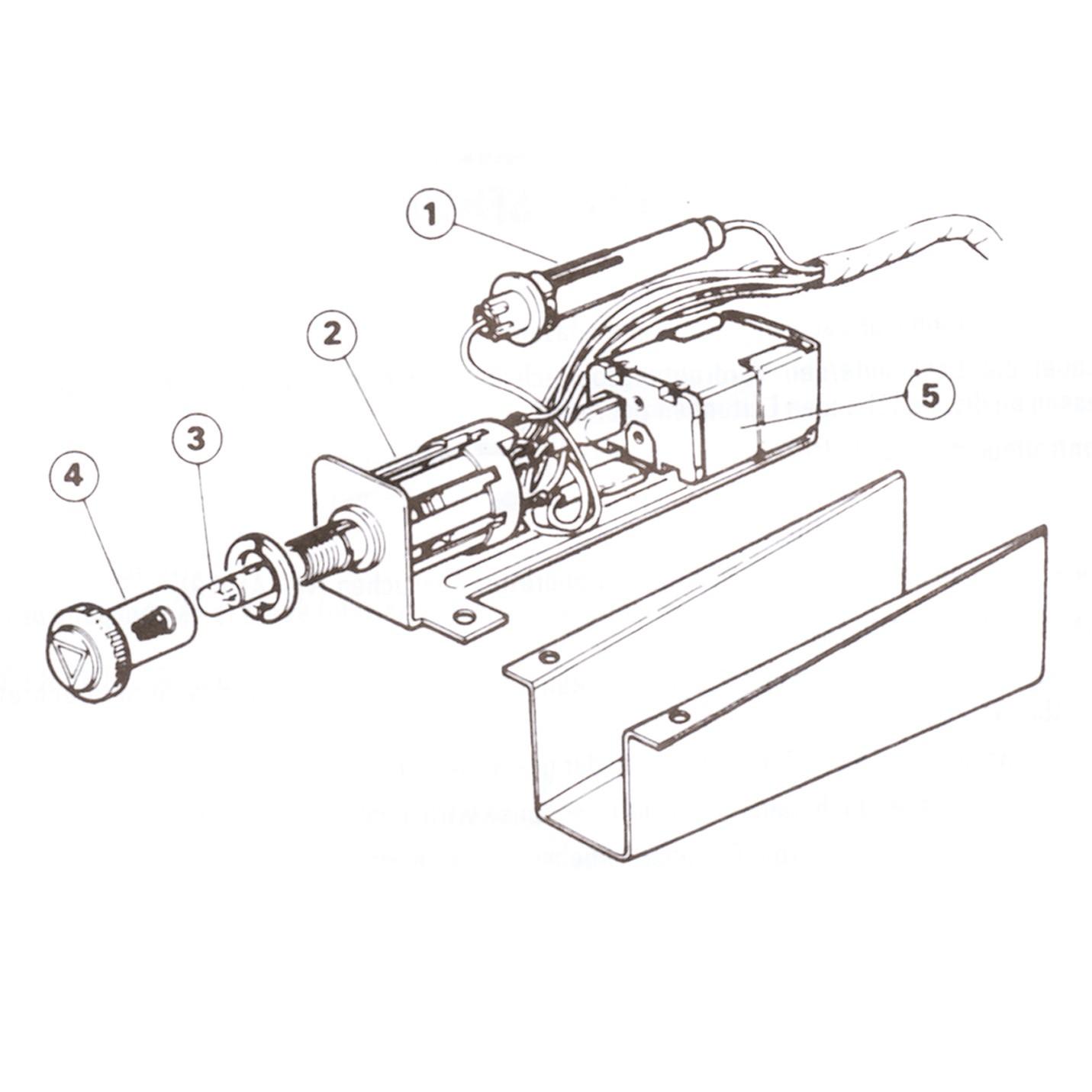 Hazard Warning Switch Kit SFB300 image #1