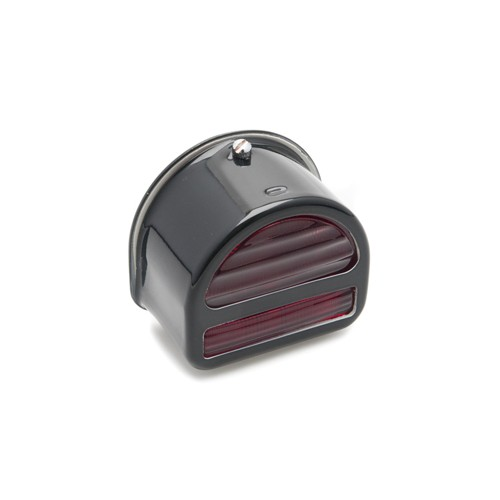Rear Lamp 'D' type with Bar - Black