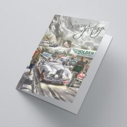 Christmas Card  Alpine Rally (Set of 10)